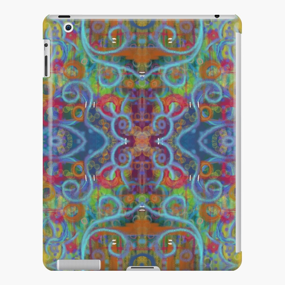 Rainy Sunday on High Ground iPad Case & Skin