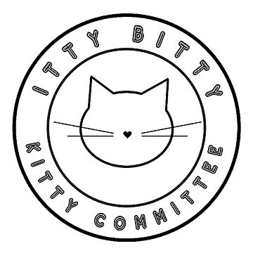 Itty Bitty Kitty Committee by clarafornia