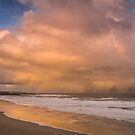 Sunshine showers and sea - Tynemouth by Angi Wallace