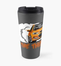 Holden Commodore VF2 SSV Redline- Light My Fire Orange Travel Mug