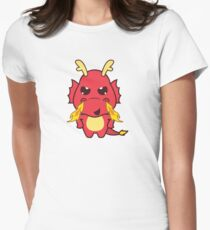 Angry Red Dragon Women's Fitted T-Shirt