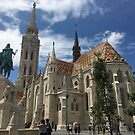 Matthias Church Budapest, Hungary by Melissa Purves