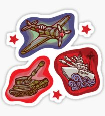 Military Forces Sticker