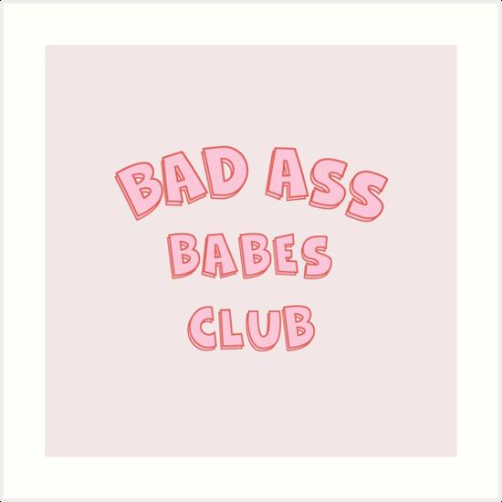 Bad Ass Babes Club von paulusjart
