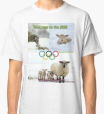 Winter Lamb Pics Classic T-Shirt