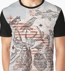 Animalia Canadiana Graphic T-Shirt