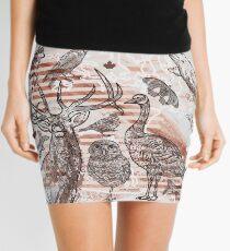 Animalia Canadiana Mini Skirt