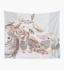 Animalia Canadiana Wall Tapestry