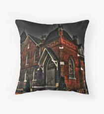 Flint Hill Baptist Church Throw Pillow