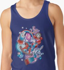 Children's Toys Colorful Cute Pattern and Illustration Tank Top
