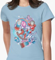 Children's Toys Colorful Cute Pattern and Illustration Women's Fitted T-Shirt