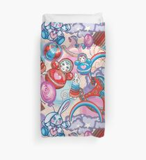 Children's Toys Colorful Cute Pattern and Illustration Duvet Cover