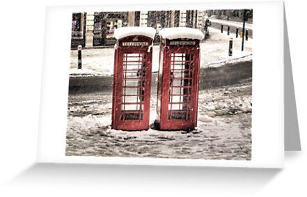 Phonebox - Snow II by NrthLondonBoy