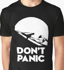 Don't panic Elon Musk's Starman  Graphic T-Shirt