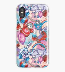 Children's Toys Colorful Cute Pattern and Illustration iPhone Case