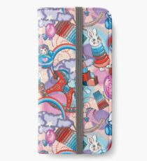 Children's Toys Colorful Cute Pattern and Illustration iPhone Wallet/Case/Skin