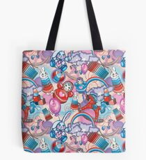 Children's Toys Colorful Cute Pattern and Illustration Tote Bag