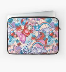 Children's Toys Colorful Cute Pattern and Illustration Laptop Sleeve