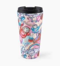 Children's Toys Colorful Cute Pattern and Illustration Travel Mug