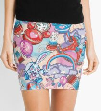 Children's Toys Colorful Cute Pattern and Illustration Mini Skirt