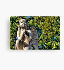Praying Angel Canvas Print