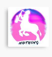 Jonny Nothing Sacred Centaur Logo Canvas Print