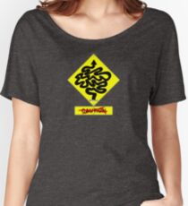 Twisty Road Ahead - No Caution Women's Relaxed Fit T-Shirt