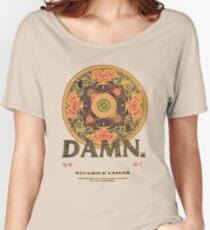 Kendrick Lamar DAMN Tour Pattern Kung Fu Kenny Women's Relaxed Fit T-Shirt