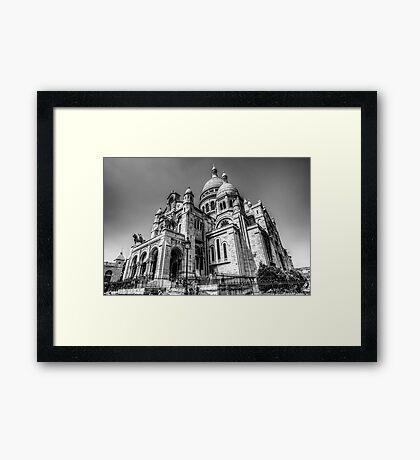 Sacre Coeur, Paris 6 Framed Print