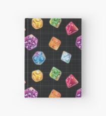 Dungeon Master Dice Hardcover Journal