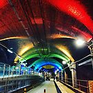 Granary Wharf lighting, Leeds by Nick Barker