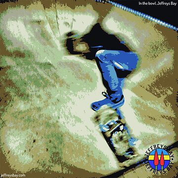Skating the bowl, colour by blommie