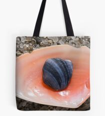 Rock in Shell Tote Bag