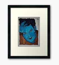 portrait 4 Framed Print