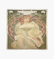 Vintage poster - Woman with flowers Scarf