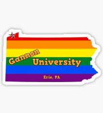 Gannon University Sticker