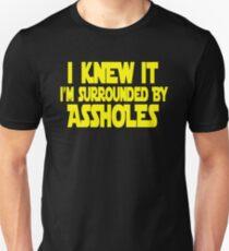 I Rodeado De Idiotas Camisetas Redbubble