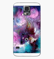 Koi, Roses, Skull Case/Skin for Samsung Galaxy