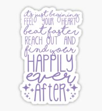 Happily Ever After- Lavender Sticker