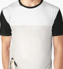 Happy Little Penguin Graphic T-Shirt