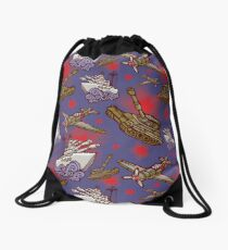 Military Forces Drawstring Bag