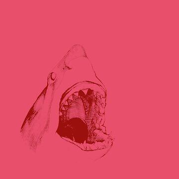 Shark (pink) by JohnnyIronic