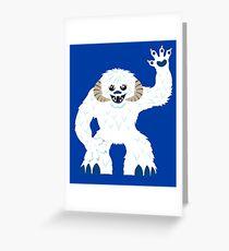 Cute Wampa - T-shirt Greeting Card