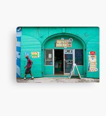 Harry's Heel Bar, Bridgetown, Barbados Canvas Print