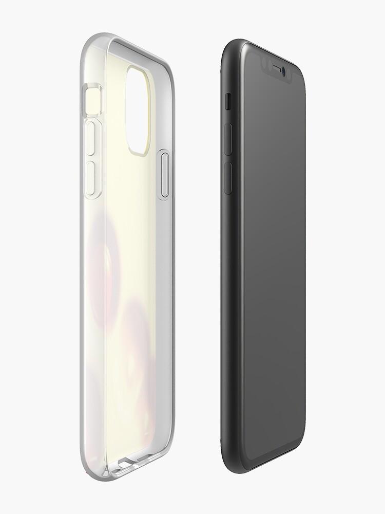 Coque iPhone «Bulles», par JLHDesign