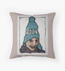 Winterportrait 3 Throw Pillow