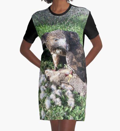 Griffon 19 Graphic T-Shirt Dress