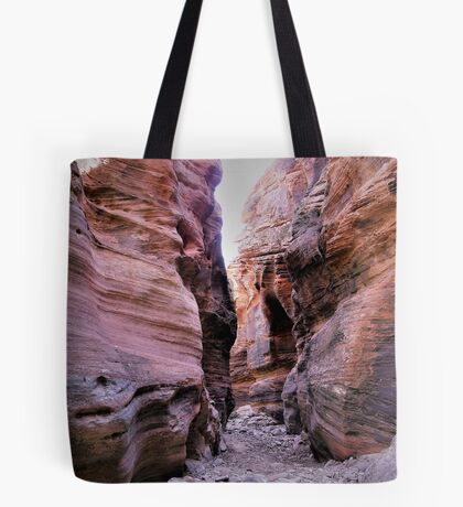 Towering Walls In Zion National Park Tote Bag