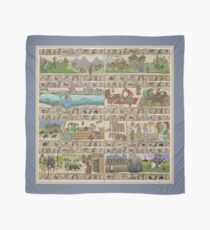 The ongoing story of Outlander - the Gabeaux Tapestry Part III Scarf
