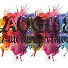 Laugh and learn spatter paint by Muffinface